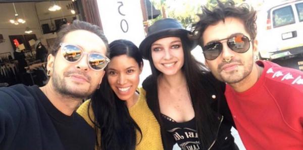 Bill & Tom Kaulitz avec des fans à Los Angeles le 01.03.2018
