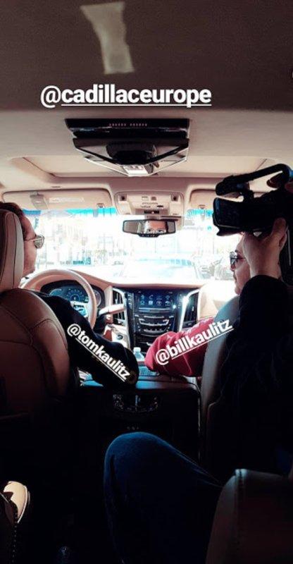 Jour de tournage avec Bill & Tom Kaulitz: Cadillac Europe coulisses 🚘🎥01.03.2018