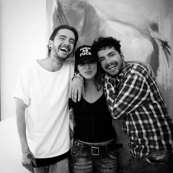 Bill & Tom avec Brittany Rice parThomas Kretschmann à Los Angeles le 04.03.2018