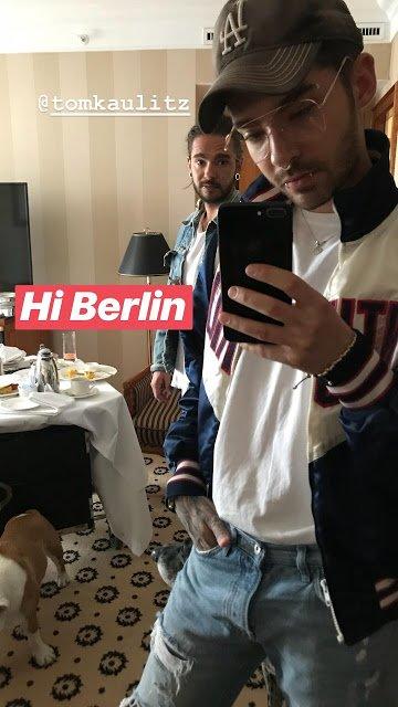 Bill Instagram Story le 16.04.2018 - Salut Berlin 👬
