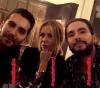 Bill Kaulitz, Tom Kaulitz & Natalie Franz au 032c X GUCCI diner d'ouverture - Berlin le 25.04.2018