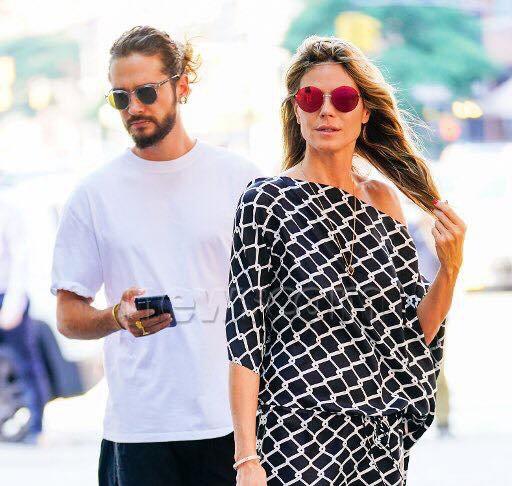Tom & Heidi à New York le 02.07.2018