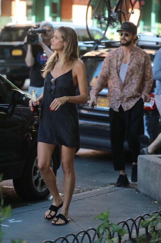 Tom & Heidi à New-York le 05.07.2018