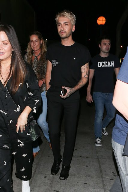 Bill Kaulitz & Co. à Los Angeles juillet 2018