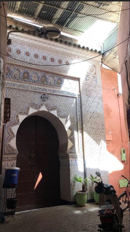 Bill Instagram Story le 11.07.2018 - #marrakeching