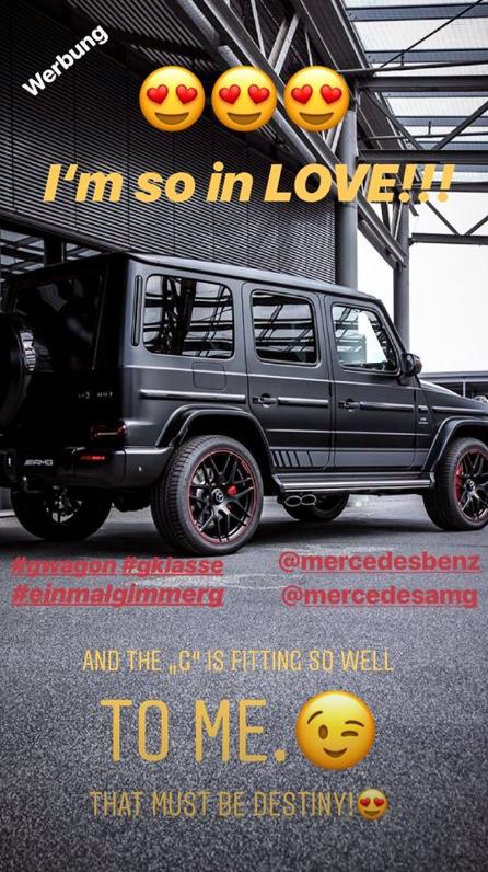 Gustav Instagram Story le 13.07.2018 - JE SUIS TROP AMOUREUX!!!