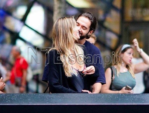 Tom & Heidi à New York 03.07.2018