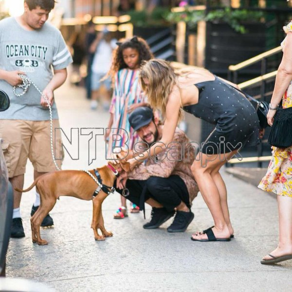 Tom & Heidi à New York le 05.07.2018