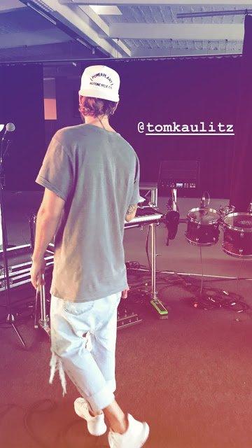Tokio Hotel Instagram Story le 21.07.2018 - Nisse jouera avec nous au #thsummercamp dimanche prochain! @tomkaulitz 🎹