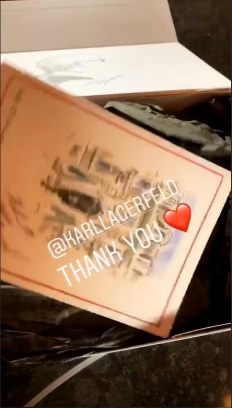 Bill Instagram Story le 13.11.2018