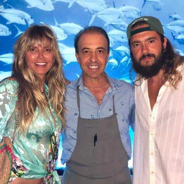 "Tom & Heidi au restaurant ""Marina Grande"" à CAPRI (Italie) 2019"