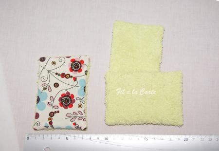 Lingettes en tissu réutilisables