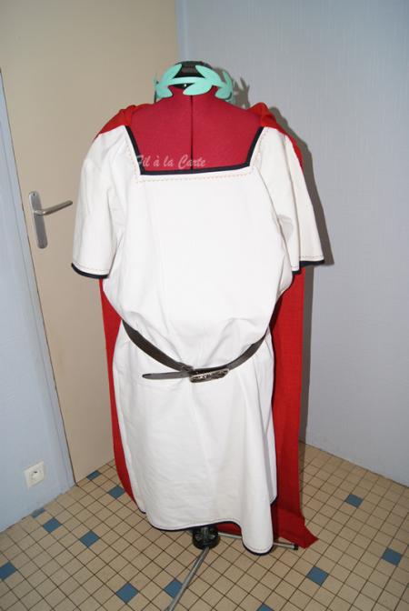 Costume César complet