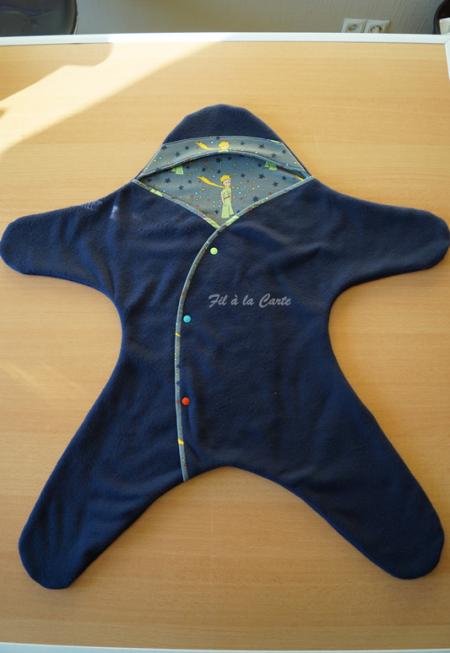 Couverture étoile Petit Prince 6-9 mois