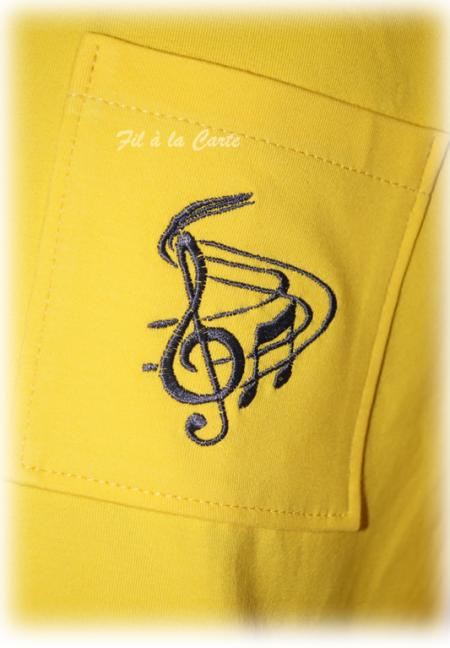 Tee shirt musical homme