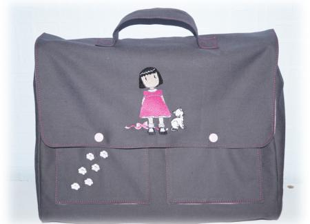 Cartable maternelle personnalisé