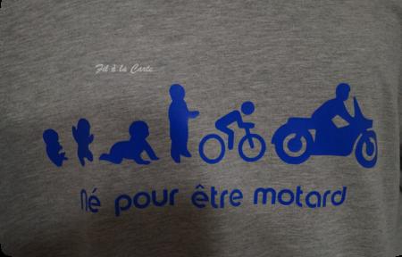 Tee shirt motard