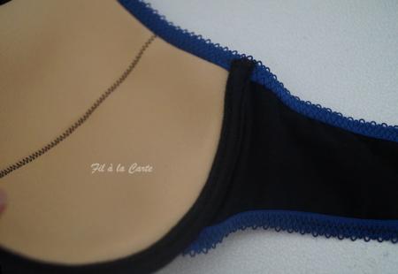 Ensemble lingerie dentelle bicolore