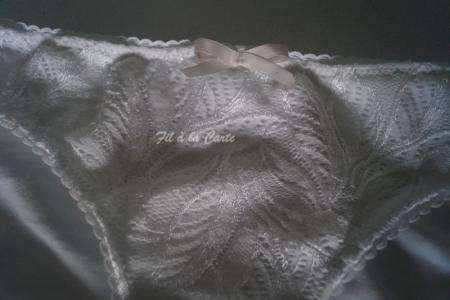 Ensemble sous vêtement blanc
