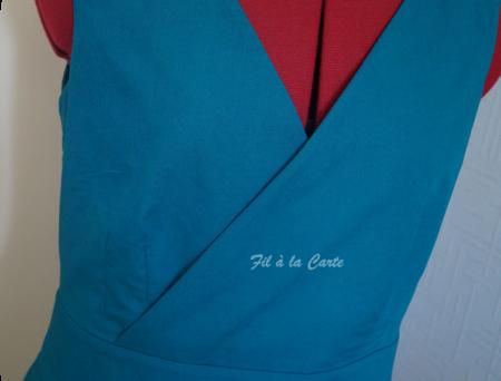 Robe style année 50
