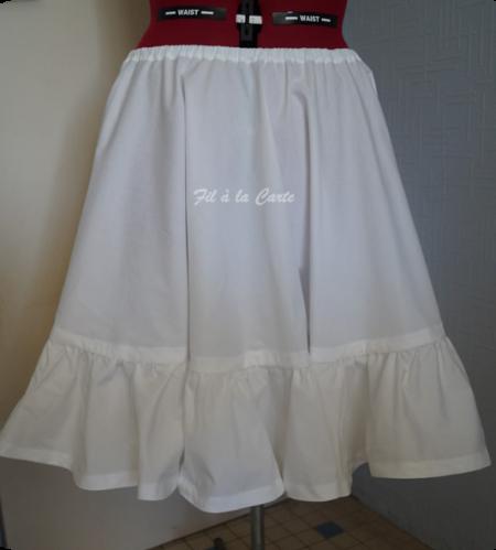 Jupon pour robe année 50