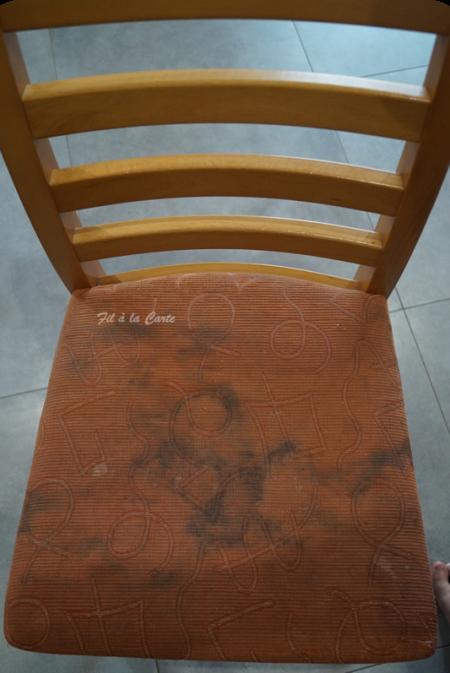 Assises de chaises fil la carte for Nettoyer canape tissu c est du propre