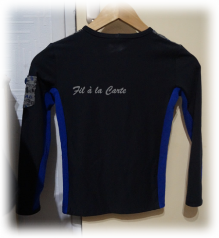 tee shirt écriture 8 ans