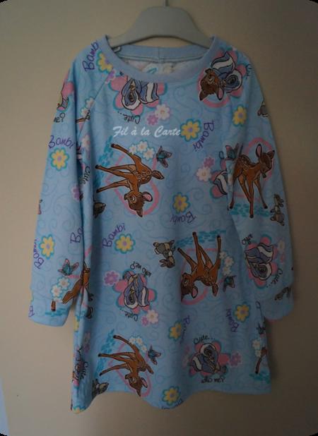 Chemise de nuit Bambi