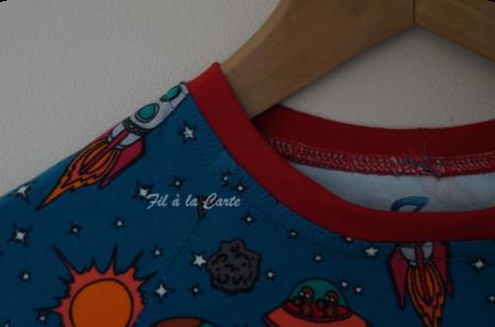 Pyjama de l'espace 8 ans