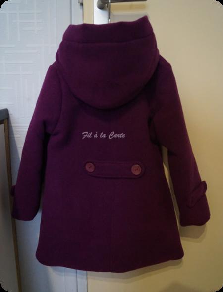 Duffle coat fille 4 ans