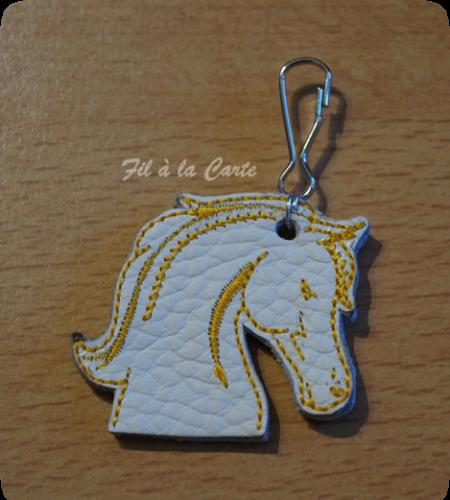 Porte clé cheval