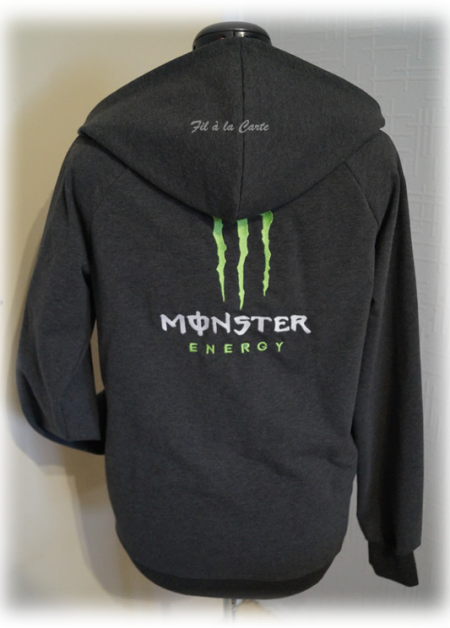 Sweat homme Monster Energy