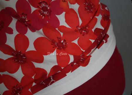 Tee shirt fleuri