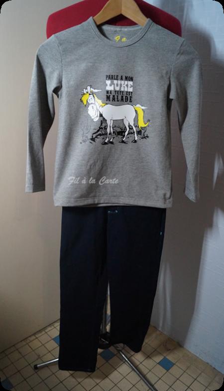 Tee shirt Luke 9 ans
