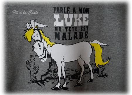 Tee shirt Luke 9 ans