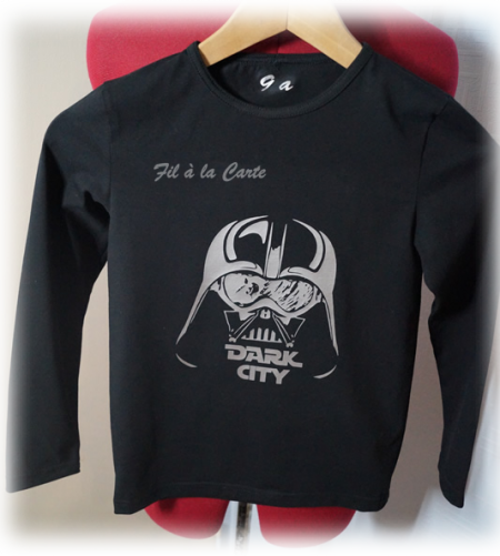 Tee shirt Dark 9 ans