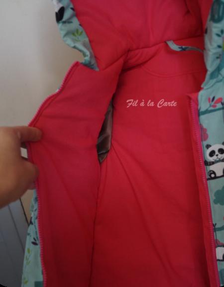 Manteau boule 5 ans