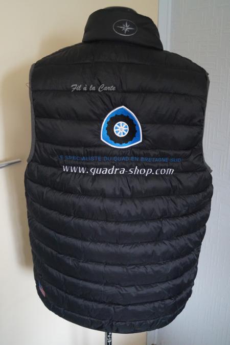 Broderie sur veste et manteau