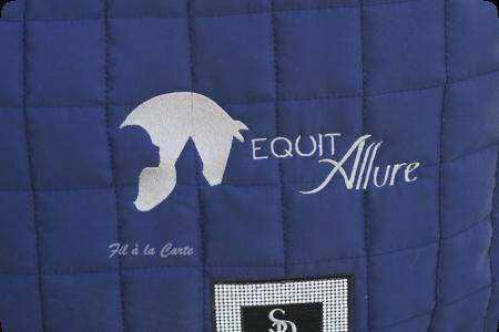 Broderie textile équestre écurie