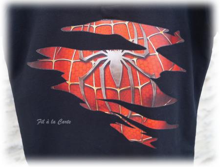 Polo Spider Man 9 ans
