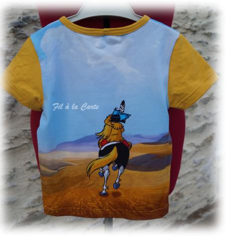 Tee shirt Yakari 5 ans