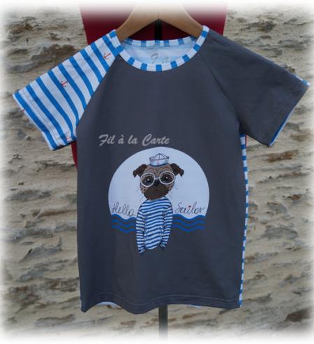 Tee shirt chien 9 ans