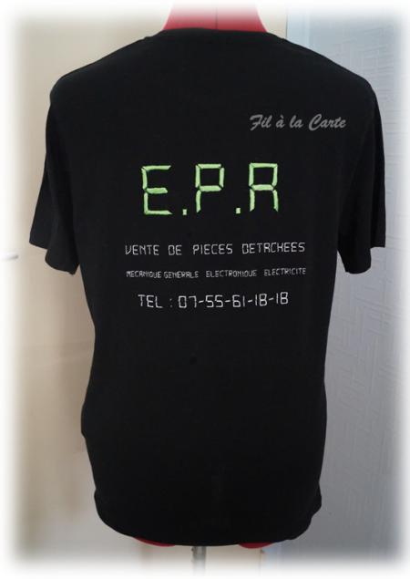Tee shirt brodé EPA