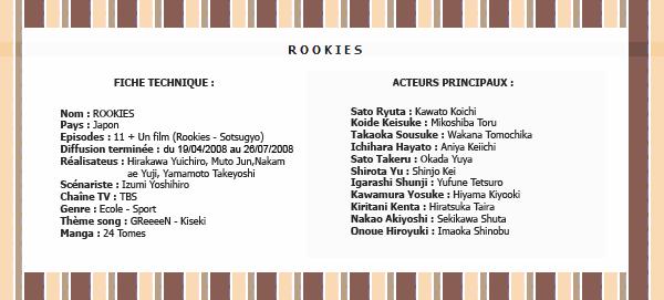 SHUGO-CHARA-X DRAMA : ROOKIES