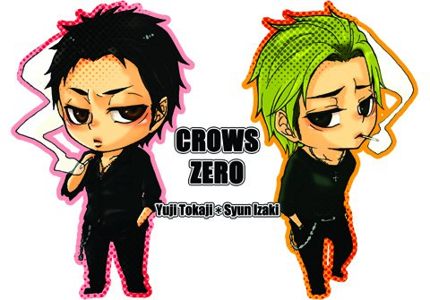 SHUGO-CHARA-X FILM ASIATIQUE : CROWS ZERO
