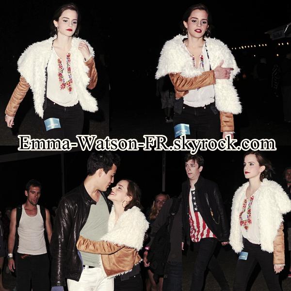 Le 15 Avril 2012, Emma était au Coachella Festival.