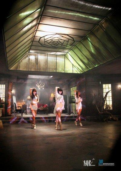Les miss A dévoilent un still de leur prochain clip
