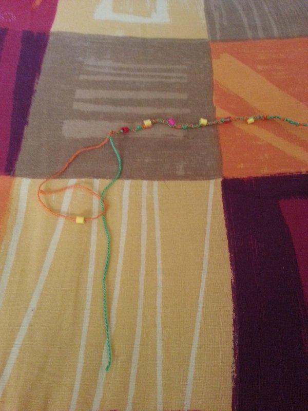 étape 2 confectionner un bracelet économique