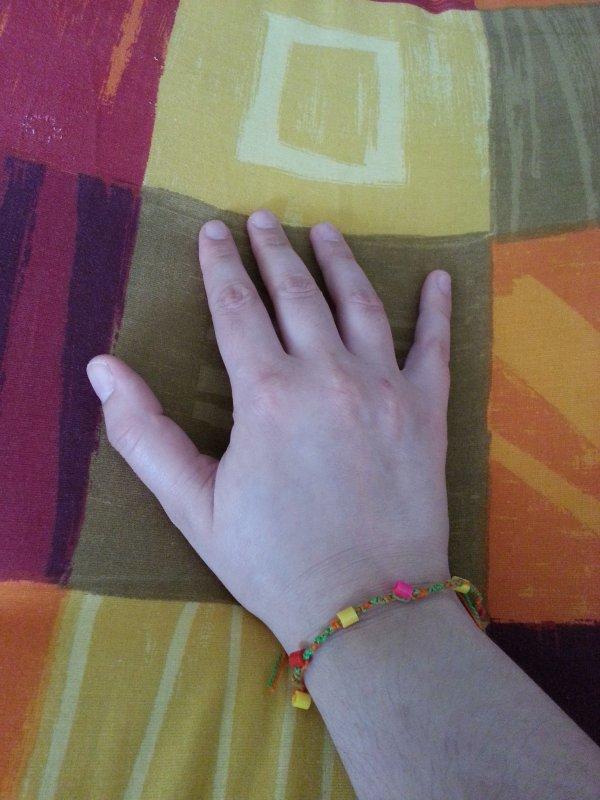Le résultat du bracelet économique ^^