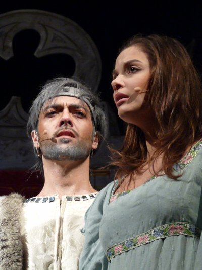 Emmanuel dans Peau d'Ane au théâtre de la Madeleine jusqu'au 31 décembre 2011